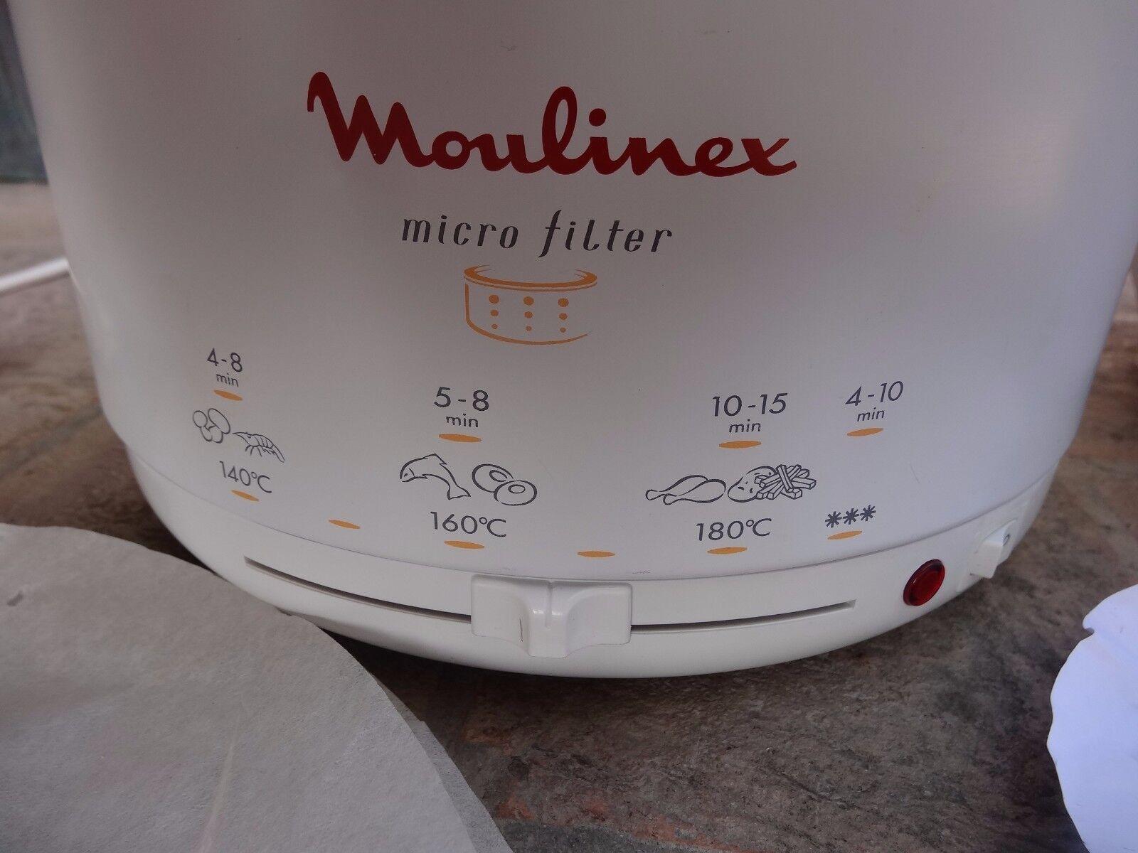 Moulinex T43  fryer food processor