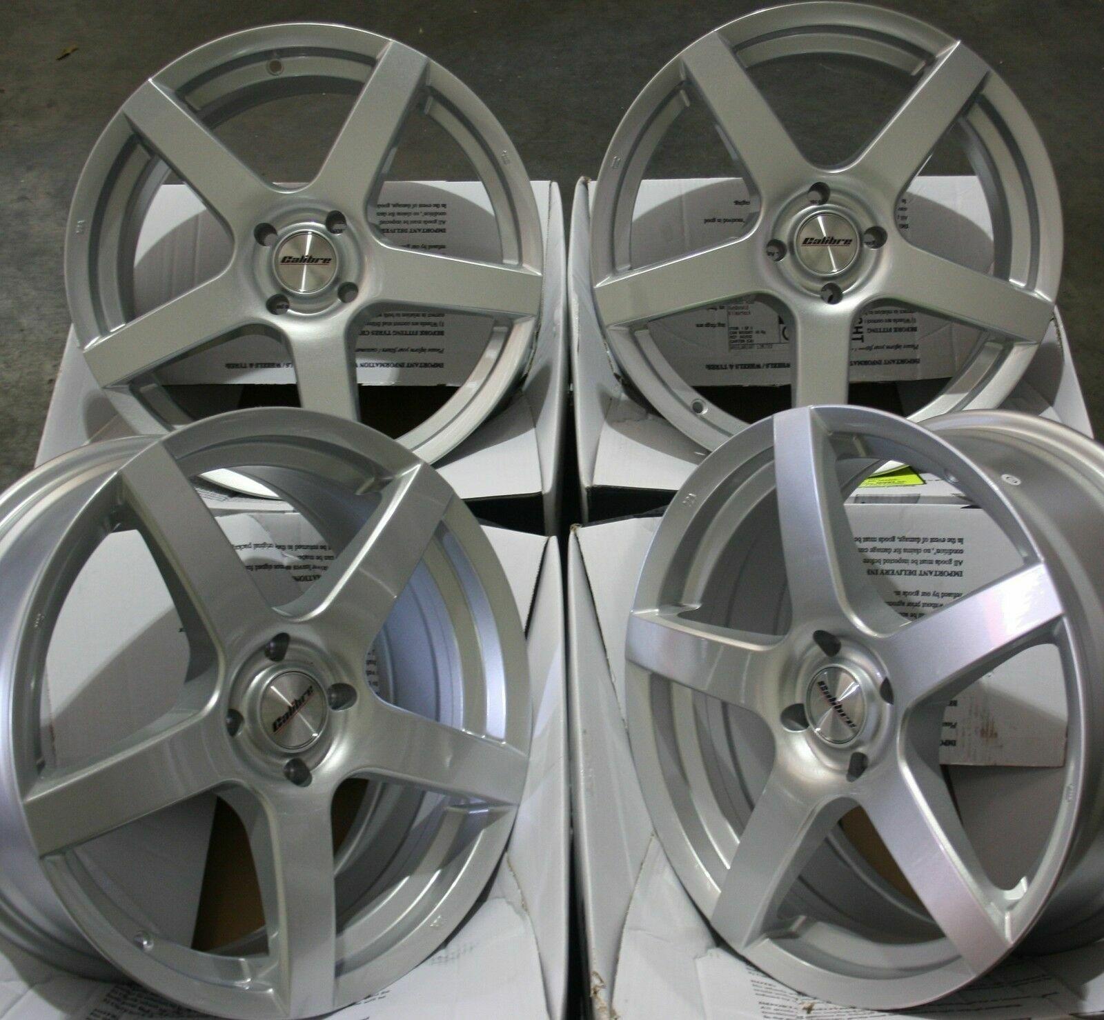 15   silver Tempo Alufelgen Passend Ford  Ecosport Puma Mazda 2 Audi 80 4x108  online sale
