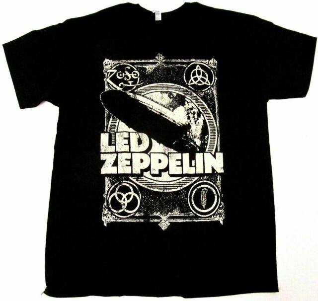 Led Zeppelin Electric Magic Concert Adult T Shirt S For Sale Online Ebay
