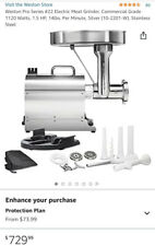 Weston 22 Pro Series Meat Grinder Local Pick Up Only