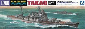 Aoshima-Waterline-45367-IJN-Japanese-Heavy-Cruiser-TAKAO-1-700-From-japan