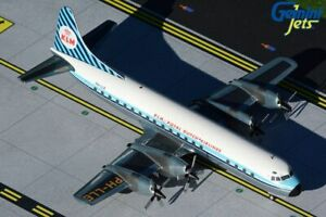 "GEMINI200 (G2KLM848) KLM (ROYAL DUTCH) L-188 ""ELECTRA"" 1:200 SCALE DIECAST MODEL"