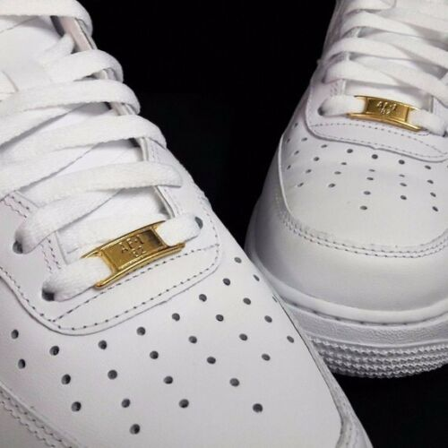 NEW AIR FORCE 1 laces with GOLD BADGE AF1 82 supreme jumpman