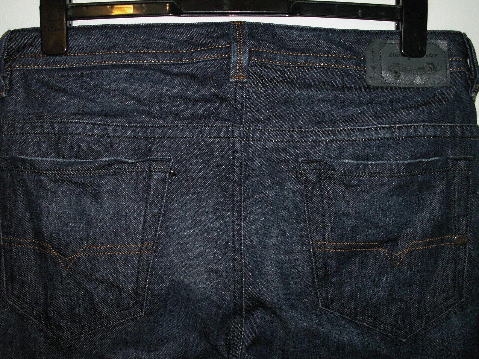 Diesel thavar slim-skinny fit jeans wash 0842N W32 L32 (a3837)