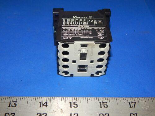 Klockner Moeller DIL-EM-01-G-24VDC Contactor 24VDC Coil DILEM01G24VDC