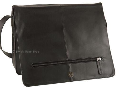 Negro cuero bolsos marr en suave de cuerpo Bolso de Visconti bandolera Suave organizador 753l pwnZq7ZCS