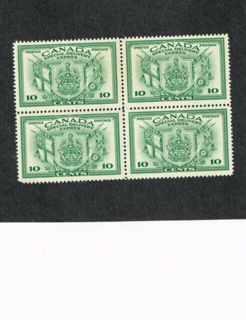 E10 MNH - VF-XF Special Delivery