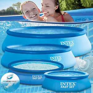 INTEX PISCINE AUTOPORTANTE SWIMMING POOL EASY 244 305 366 457 488 549 cm
