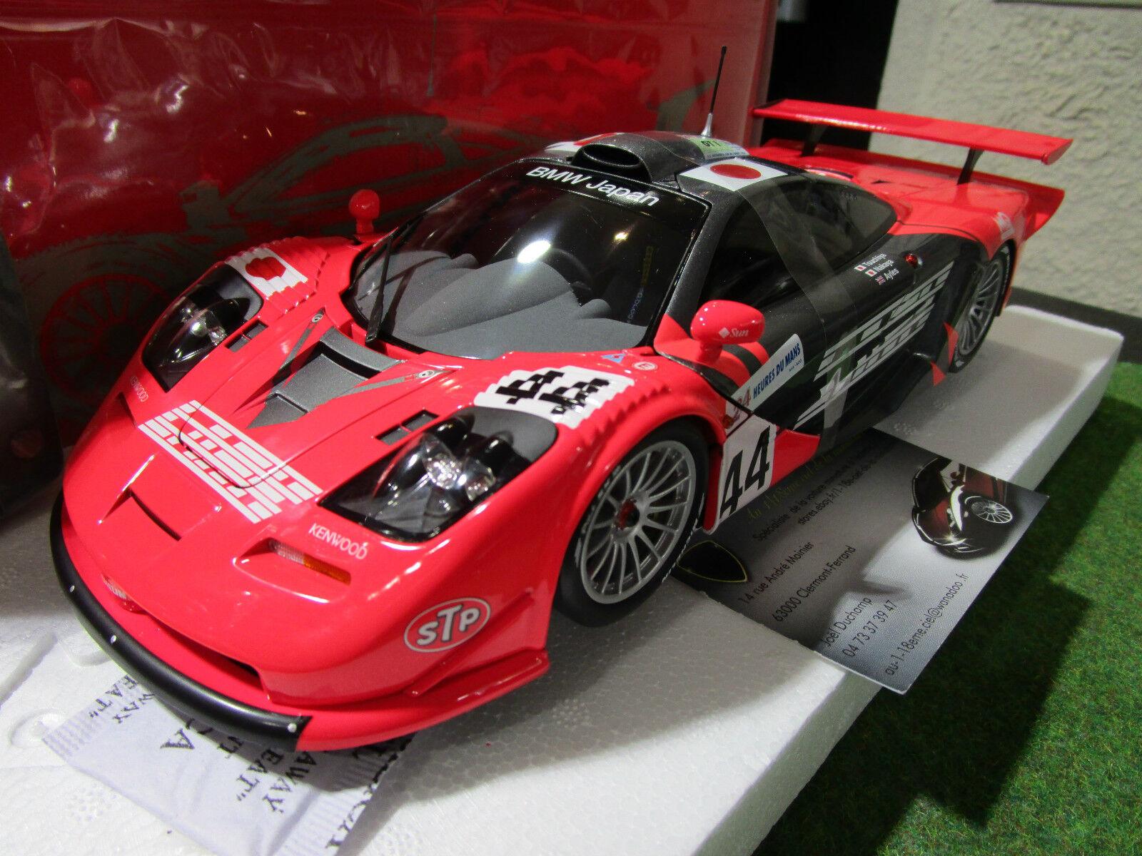 McLAREN F1 GTR  44 LE MANS 1997 NAKAYA 1 18 MINICHAMPS 530133744 voiture miniatu