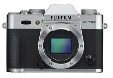 NEW BOXED FUJIFILM X-T10 XT10 CAMERA BODY ONLY SILVER