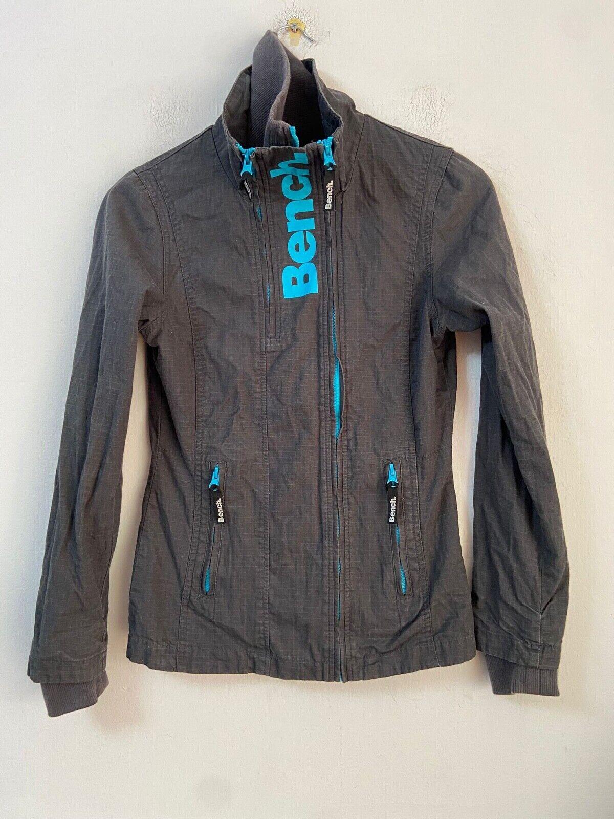 Bench Grey Jacket Size XS Womens Long Sleeve (N769)
