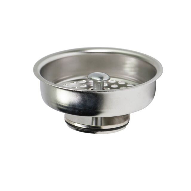 Everflow 75131 Kitchen Sink Basket Strainer Replacement for Kohler Style  Drains