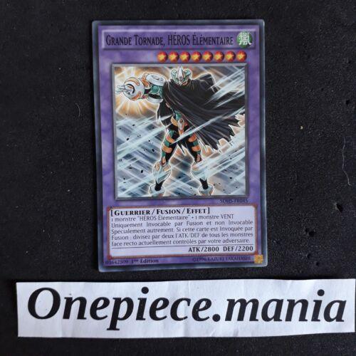 Grande Tornade Yu-Gi-OH Heros Elementaire SDHS-FR045 1st