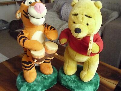 Accurato Rare 1990s Disney Ballando E Cantando Winnie The Pooh E Tigro.-mostra Il Titolo Originale