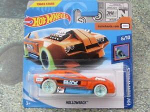 Hot-Wheels-2018-061-365-Hollowback-Naranja-034-Brillo-034-Hw-Brillo-Ruedas