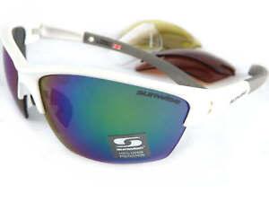 SUNWISE prescription MONTREAL MK1 sport White sunglasses 4 x interchangeble lens
