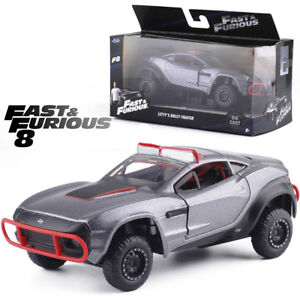 1-32-FAST-AND-FURIOUS-8-LETTY-039-S-RALLY-FIGHTER-GREY-DIECAST-MODEL-VEHICLE-CAR-TOY