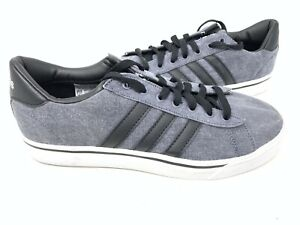 NEW-Adidas-Men-039-s-Cloudfoam-Super-Daily-Sneakers-Charcoal-Black-AW4314-152X-sz