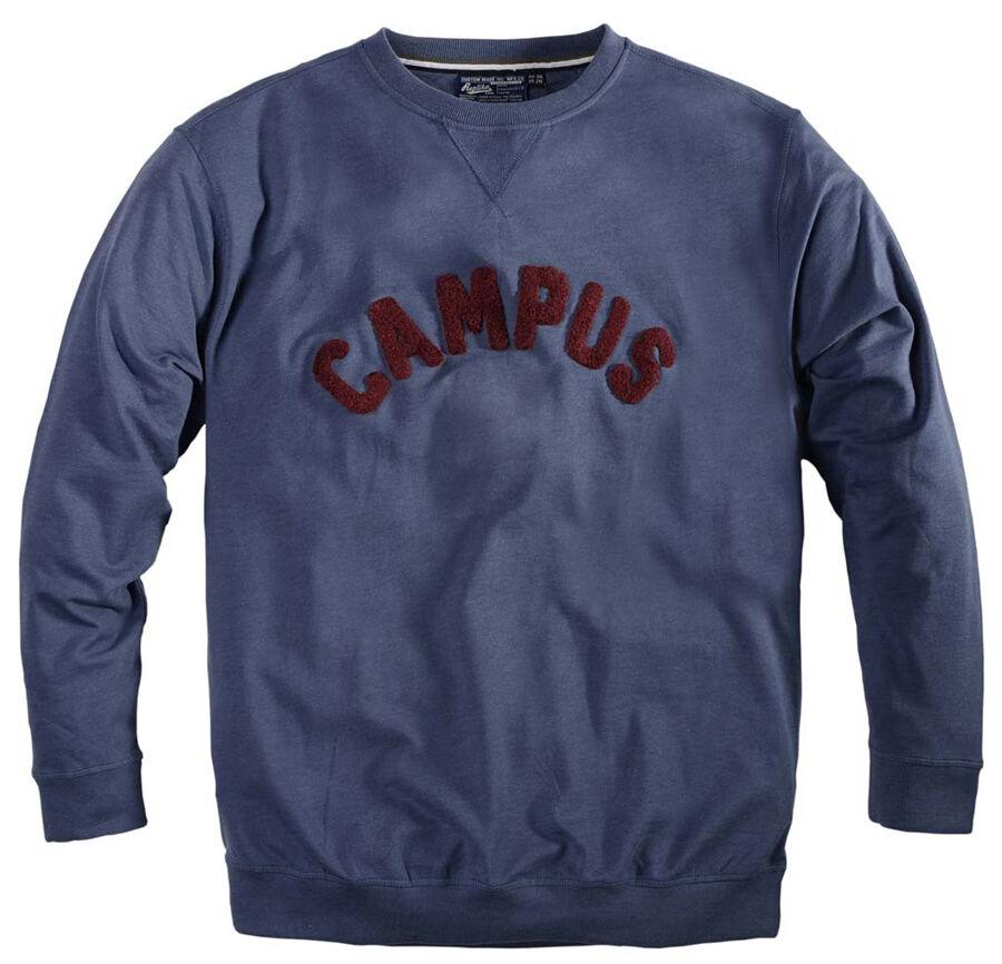 Replika Jeans Campus Sweat Shirt/Blau - 7X WAS  NOW