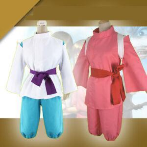 Japanese Anime Spirited Away Costume Kimono Ogino Chihiro Cosplay Comic Con Suit Ebay