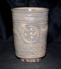 Richard Bresnahan Studio pottery Dove Yunomi Tea Cup St John University Johanna