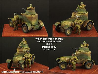1:72 Polish Wz.34 Crew Set2 Scibor Miniatures