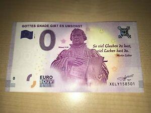Martin-Luther-Roman-3-28-ZERO-EURO-0-EUROS-Schein-billet-UNC-2017