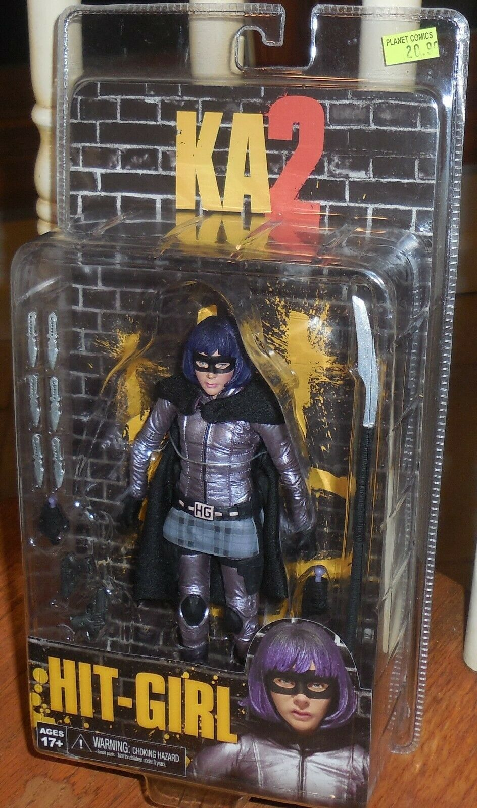Neca Ka2 Hit Girl Statuetta Mosc Kick Ass 2