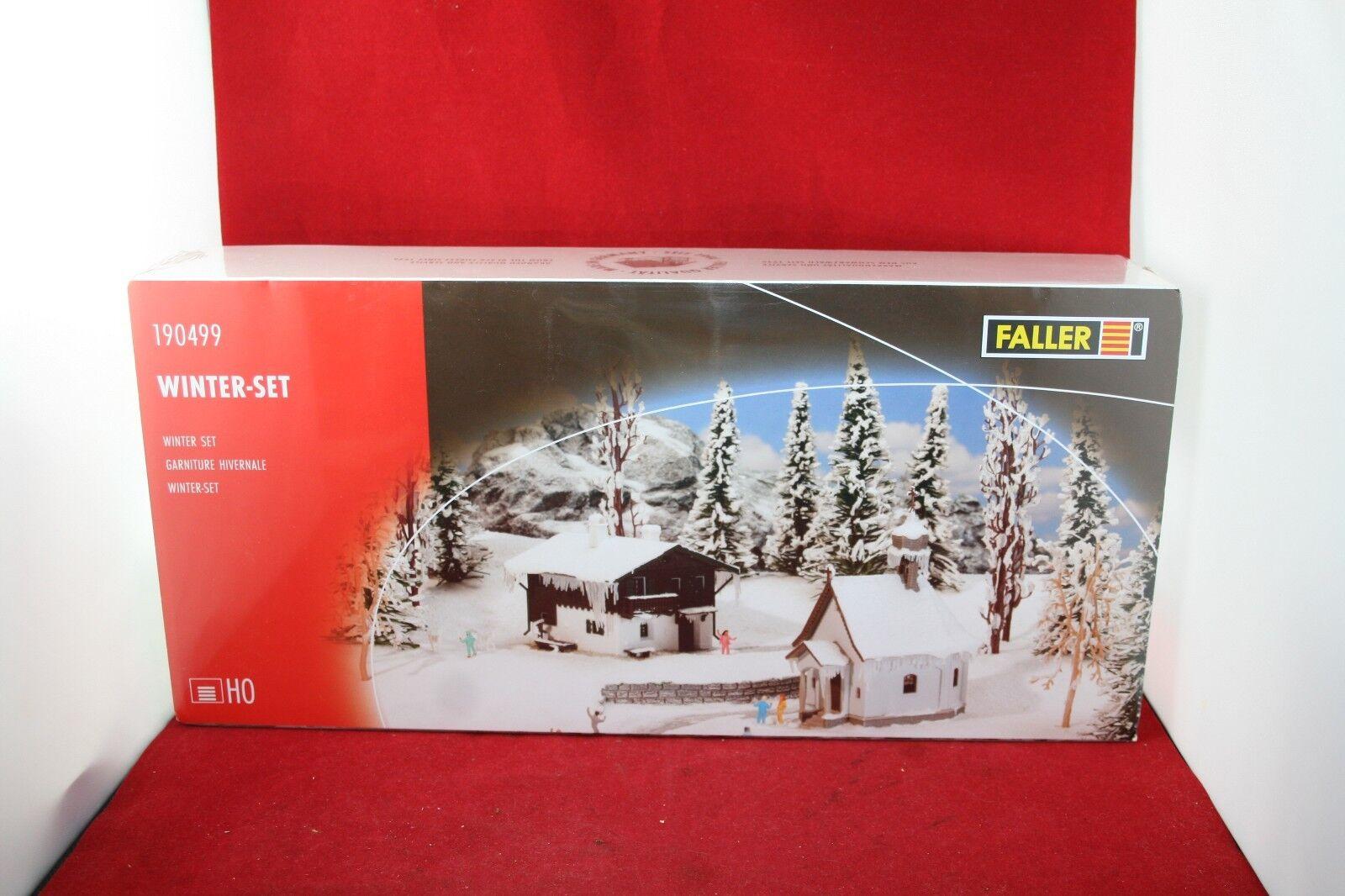 Faller 190499 190499 190499 pista h0 invierno-set kit/nuevo/en el embalaje original 082ab6