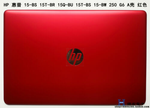 New HP 15-bs009cy 15-bw010cy 15-bs157sa Red LCD back cover top case L03441-001