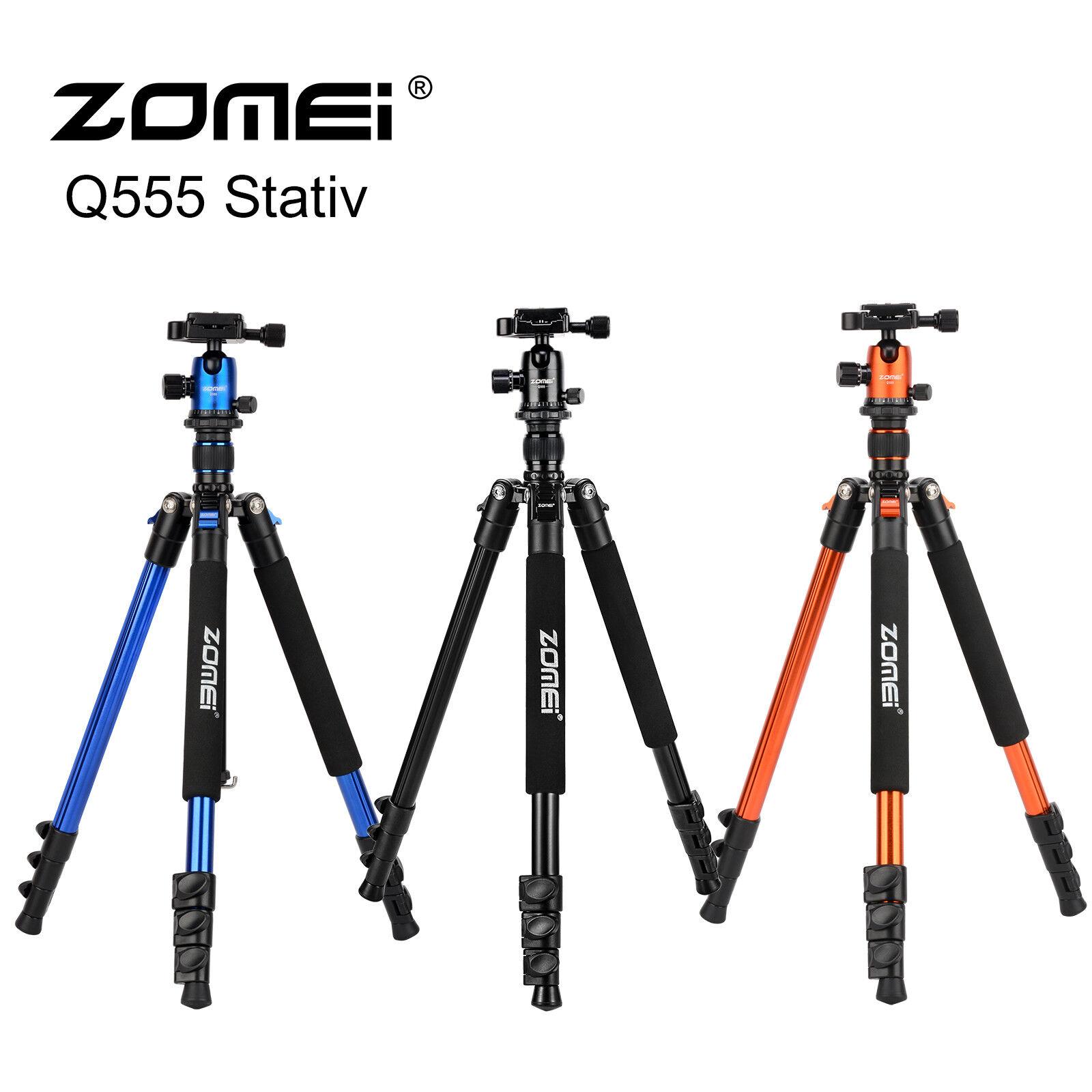 ZOMEI Q555 Camera Tripod Lightweight  Aluminium Tripods&Ball