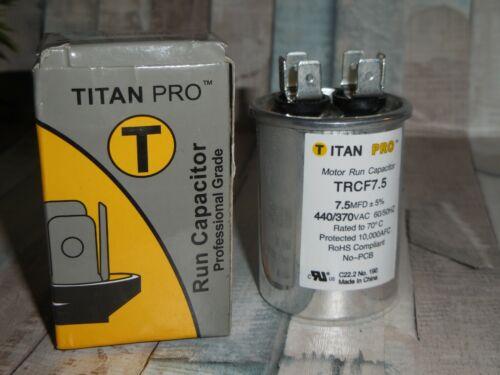 Packard or Titan PRCF7.5  7.5V 440V or CBB65A 370V ~ Fast Ship CAPACITOR CHOICE