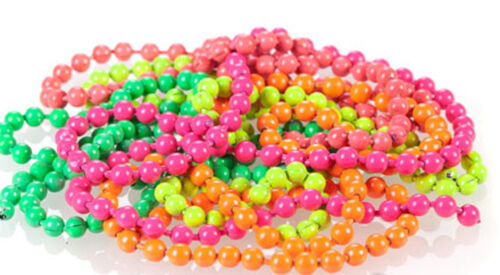 """fly tying Fl BEAD CHAIN /""""COMPLETE 5 PACK SET/""""  5 Colors"""