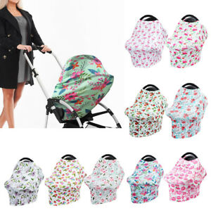 ad781c0f2ef6a Image is loading Stretchy-Baby-Car-Seat-Cover-Canopy-Nursing-Breastfeeding-