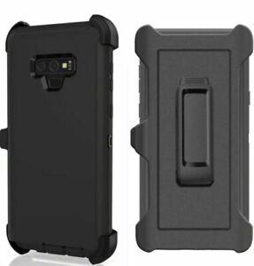 For-Samsung-S8-S9-S10-Plus-S10e-Defender-Case-Hybrid-Cover-Fit-Otterbox-Clip