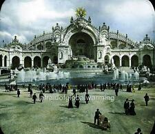 Photo. 1900. France. Paris Expo - Crowds at Palace of Electricity