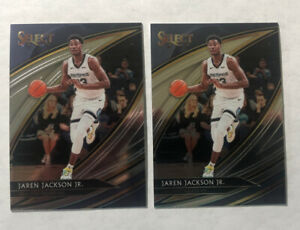 2019-20-Panini-Select-Jaren-Jackson-Jr-Courtside-SP-Card-238-Lot-Of-Two