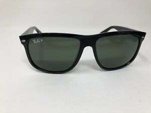 Ray-Ban-RB4147-Sunglasses-Black-Frame-Polarized-Lenses-601-58-60mm-Large-Q439