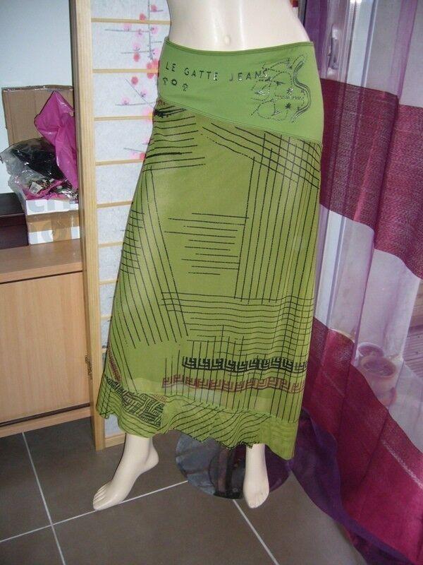 LEGATTE   jupe longue legatte modèle Calder