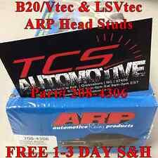 ARP 208-4306 HEAD STUDS KIT INTEGRA CIVIC SWAP B20 W/ B16 HEAD LS VTEC CRV-VTEC