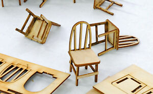 BANTA-MODELWORKS-BENT-BACK-CHAIR-F-G-Large-Scale-Model-Railroad-Structure-BM918