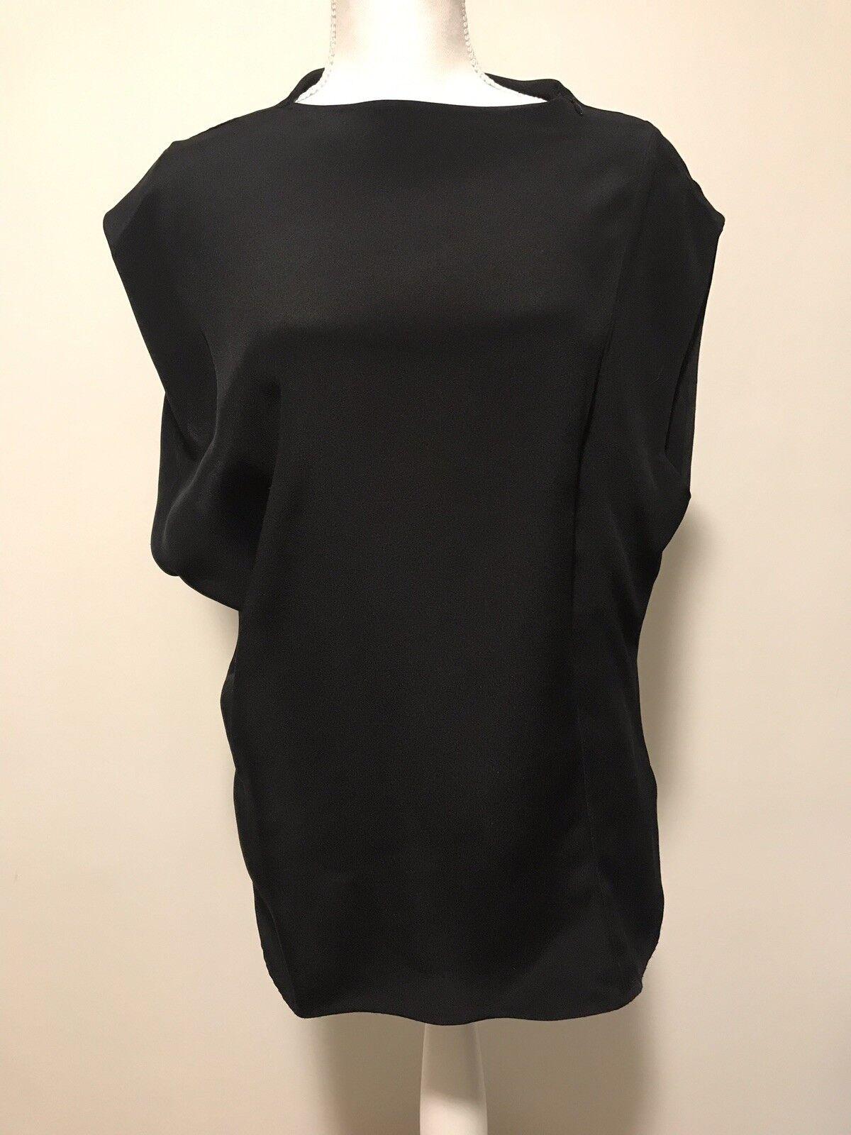 Phillip Lim 100% Silk schwarz Top, Mint condition