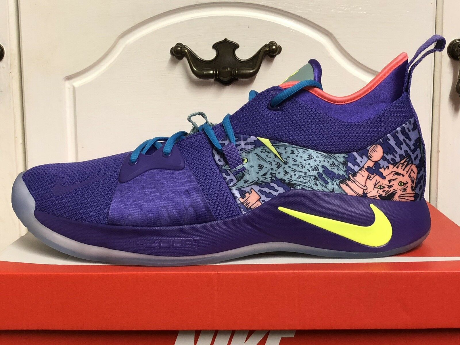 the latest f8186 72419 NIKE PG 2 mm PAUL GEORGE Baskets Homme Homme Homme Baskets Chaussures US 15  512bc6