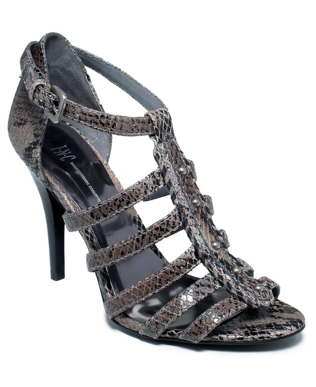INC Donna  Dare Sandal Sandal Sandal (8.5, grigio) b7abd7