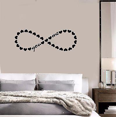 P.S I LOVE YOUBedroom Wall Art Sticker QuoteDecal Romance Door Vinyl WQB7