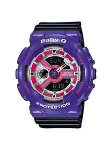 Casio-Baby-G-Uhr-BA-110NC-6AER-Analog-Digital-Schwarz