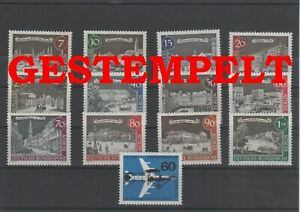 Germany-Berlin-vintage-yearset-1962-Postmarked-Used-complete-More-See-Shop