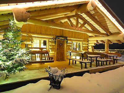 Naturstammblockhaus, Ferienhaus, Gartenhaus, Saunahaus