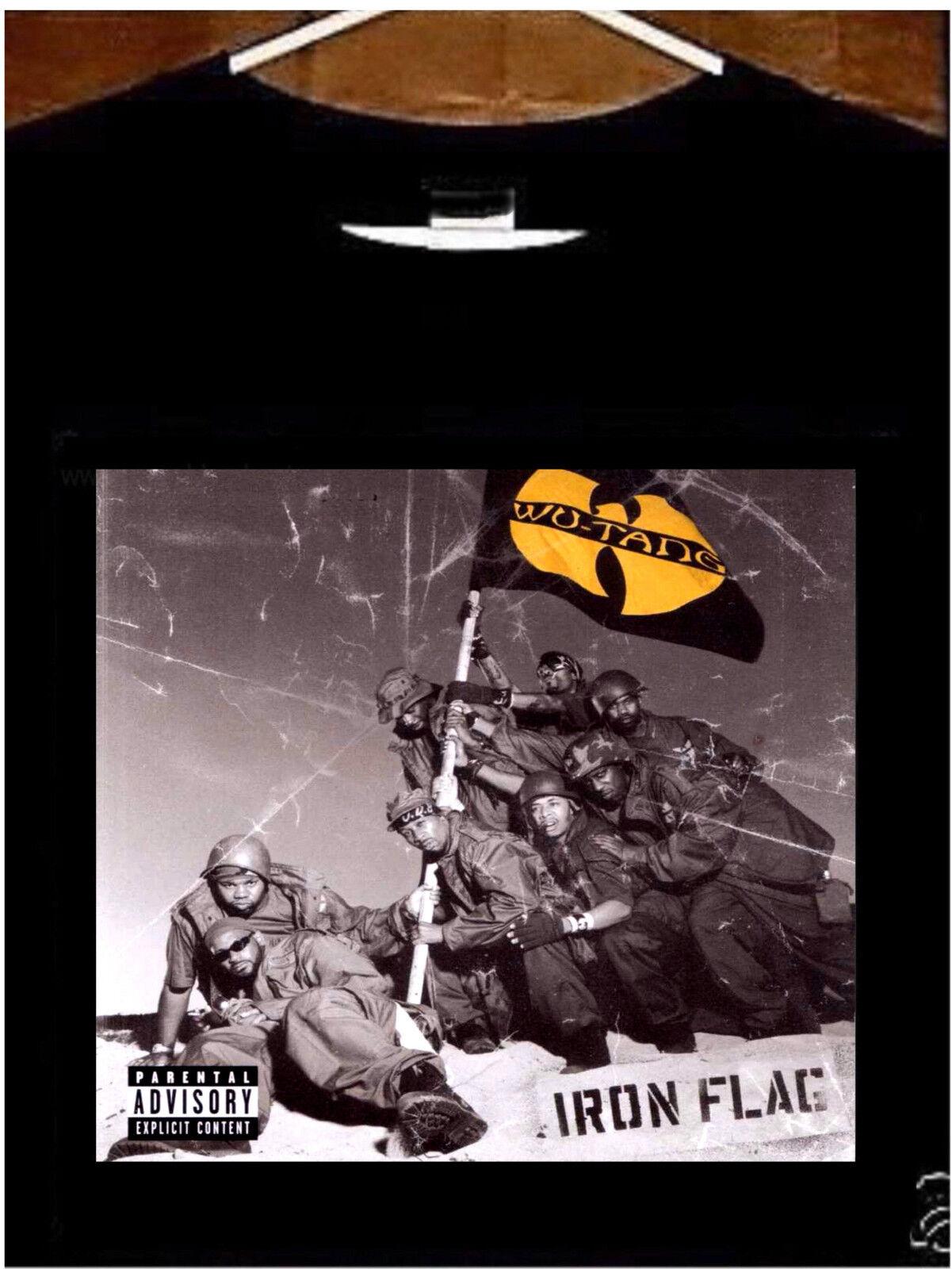 Wu-Tang T Shirt; WuTang Iron Flag Tee Shirt