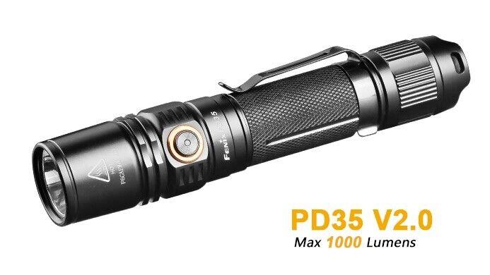 Fenix pd35 v2.0 1000 Luuomini CREE XPL Hi v3 LED nuovo